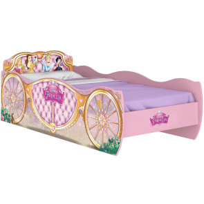 Cama Infantil Princesas Disney Carruagem Star - Pura Magia
