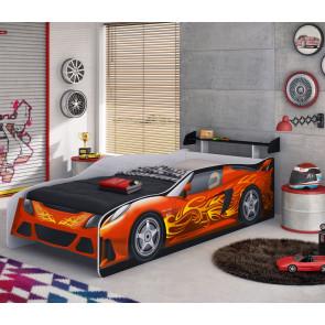 Cama Sport Car Com Aerofólio - Móveis Estrela