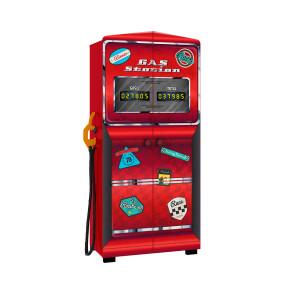 Guarda Roupa Infantil Gas Station Premium com Mangueira em Tecido e Puxadores Temáticos Pura Magia