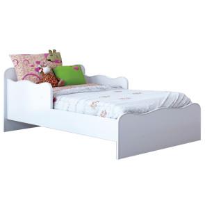 Mini Cama Infantil Soneca Baby Branco Brilho - Móveis Estrela