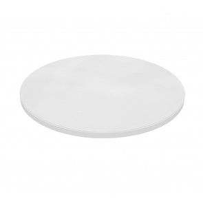 Prato Giratório Com Vidro Branco Melissa - New Ceval