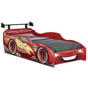 Cama Infantil Carros Disney Star McQueen Com Aerofólio Pura Magia - Licenciado pela Disney